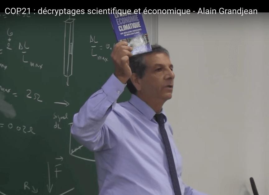 """Extrait de la conférence : """"COP 21 : décryptages scientifiques et économiques"""""""