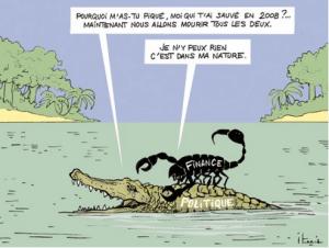 scorpion-crocodile-grenouille-finance-politique-crise