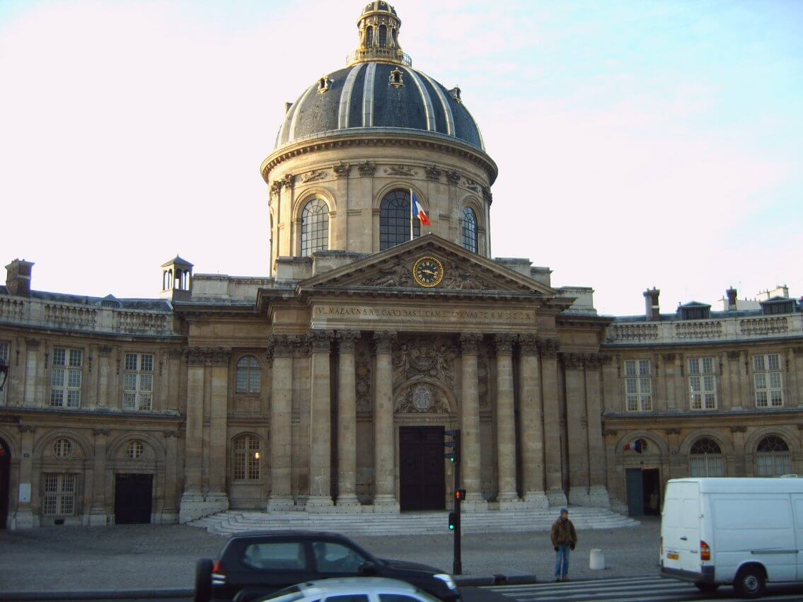 L'institut de France héberge l'académie des sciences