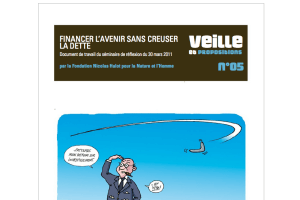 "FNH - Couverture de la proposition ""Financer l'avenir"""