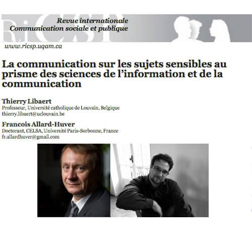 Communication et Conflit