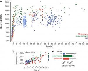 Microbiote métagénomique