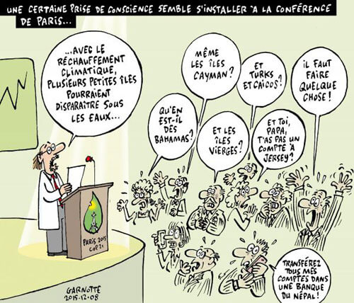 Prise de conscience par les financiers du risque climatique - Garnotte, tous droits réservés