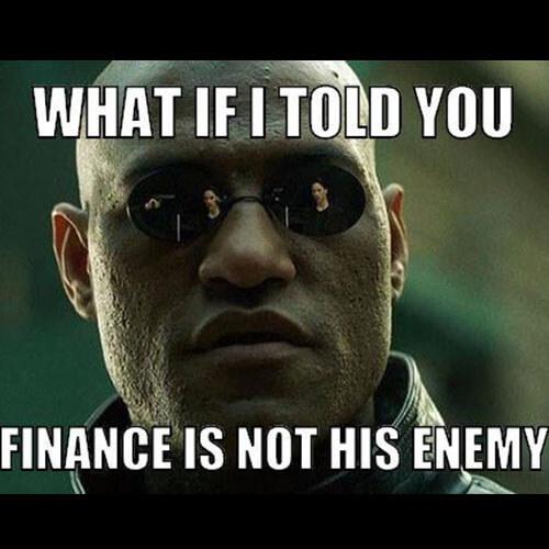 Révélations de Morphéus sur l'idée reçue que la finance est l'ennemi de François Hollande. Image : The Matrix.