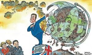 Métaphore : relancer l'économie mais sur quelle planète ?