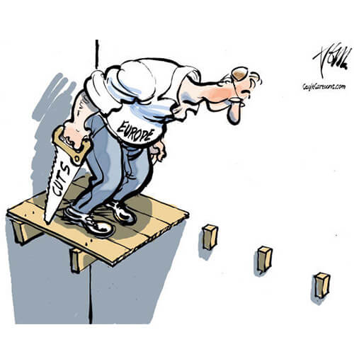 Illustration de Caglecartoons