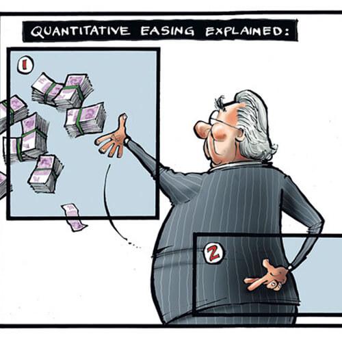 Le QE sans fléchage...