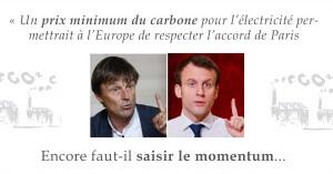 Hulot et Macron ont une vraie fenêtre de tir pour faire bouger l'Europe