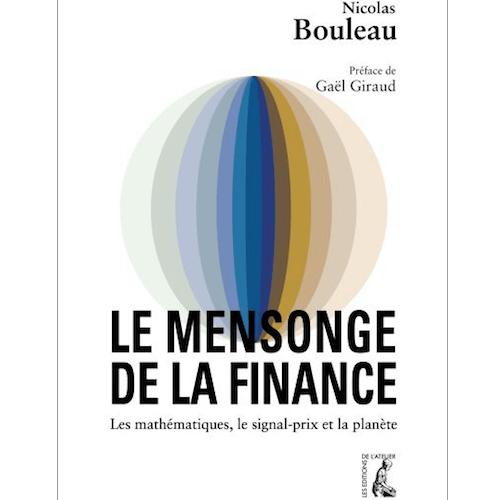 Couverture de livre Le mensonge de la Finance par Nicolas Bouleau