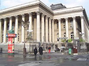Bourse de Paris sur Wikimedia Commons
