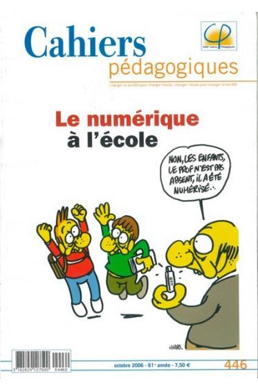Cahier Pédagogique - Le numérique à l'école