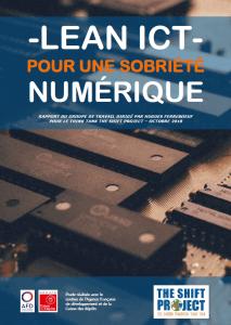 Rapport - Pour une sobriété numérique - TSP
